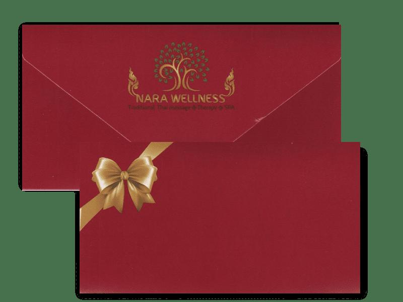 Nara wellness giftcard